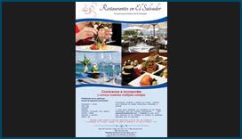 Afiche de Restaurantes en El Salvador