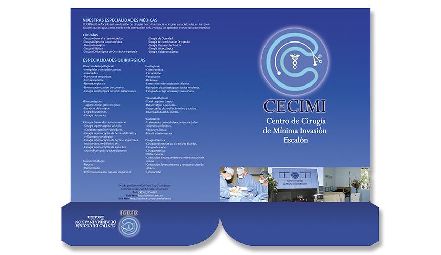 Folder de CECIMI
