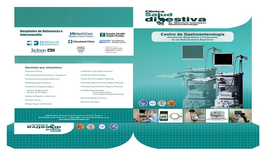 Diseño de folder salud digestiva
