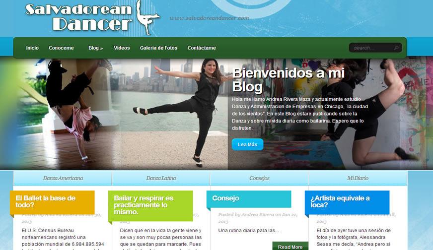 Salvadorean Dancer