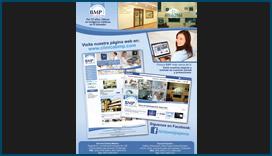 Afiche de Redes Sociales para Clínica BMP