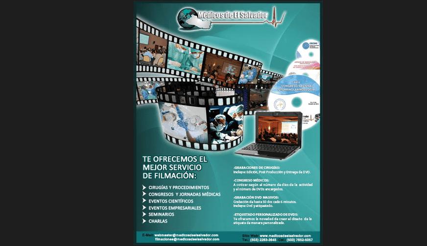 Afiche Filmaciones de Congresos y Eventos