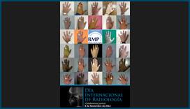 Afiche de Clínica BMP para Día Mundial de Radiología
