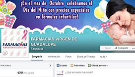Fan-page Farmacia Virgen de Guadalupe