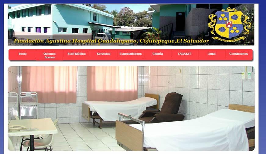 Fundación Agustina, Hospital Guadalupano, Cojutepeque El Salvador