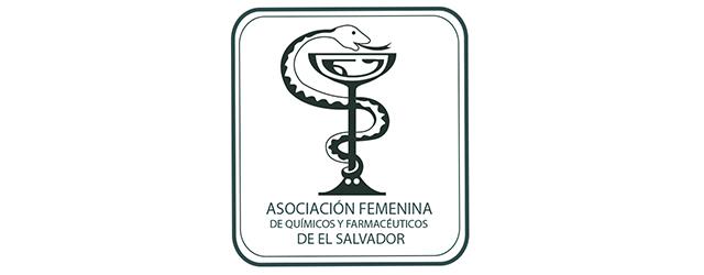 Logo de Asociación Femenina de Químicos y Farmacéuticos de El Salvador
