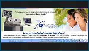 Anuncio Prensa – Centro Panamericano de Ojos 01
