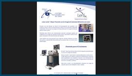 Catálogo para Láser Lensx