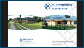 Catálogo para Multimédica Internacional