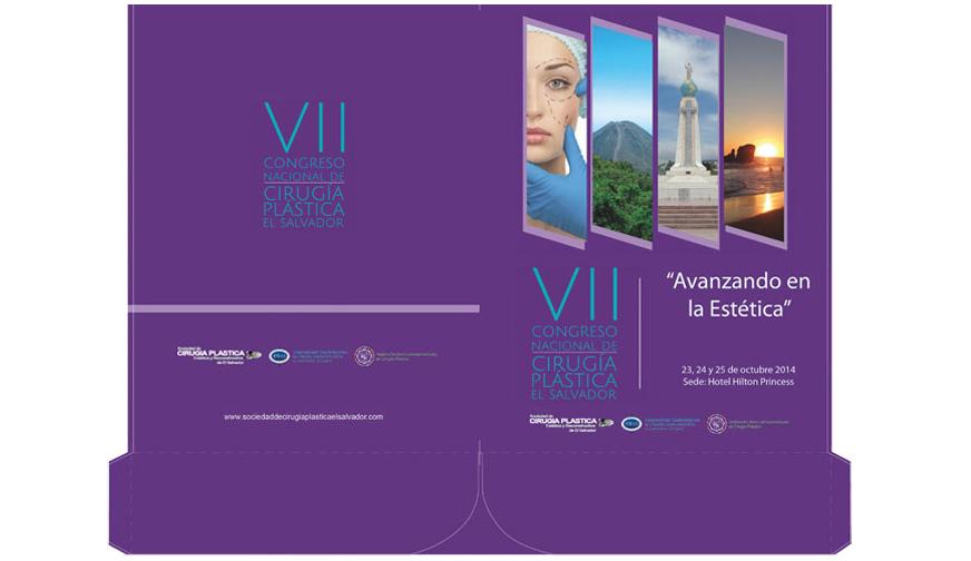 Folder para VII Congreso Nacional de Cirugía Plástica