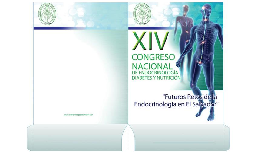 Folder para XIV Congreso Nacional de Endocrinología