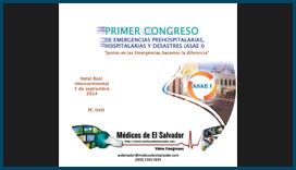 Etiqueta DVD Primer Congreso de Emergencias (ASAE I)