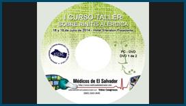 Etiqueta DVD I Curso Taller sobre Rinitis Alégica