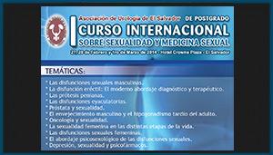 Flyer 1er curso internacional sobre sexualidad y medicina sexual