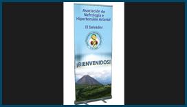Lona para VII Congreso Nacional de Nefrología