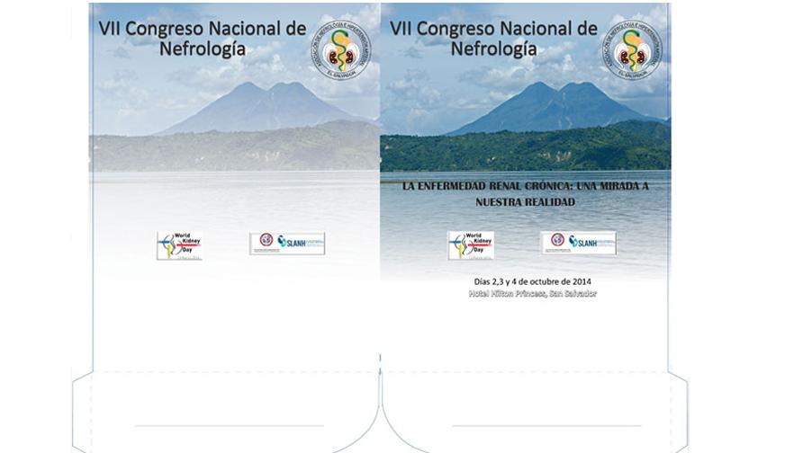 Folder para VII Congreso Nacional de Nefrología