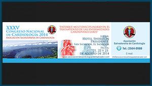 Separador XXXV Congreso Nacional de Cardiologia 2014