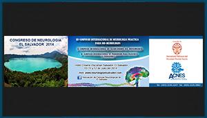 Separador del Congreso de Neurología, El Salvador 2014