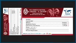 Talonario de pago Congreso de Urología 2013