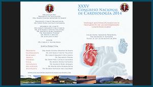 Brochure –  XXXV Congreso Nacional de Cardiología 2014