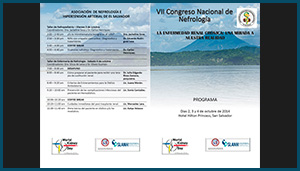 Programa –  VII Congreso Nacional de Nefrología 2014