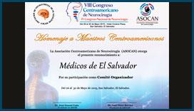 Diploma Congreso de Neurocirugía 2015