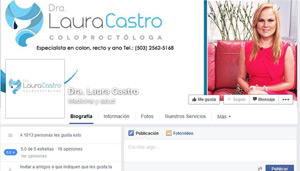 Fan page Dra. Laura Castro