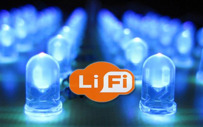 Li-fi es 100 veces más rápido que el Wi-fi