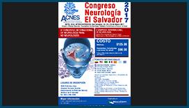 Afiche Congreso de Neurología El Salvador 2017