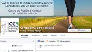 Fan-page Centro de Cadera y Rodilla