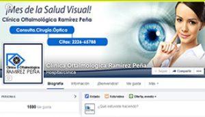 Fan-page Clínica Oftalmológica Ramirez Peña