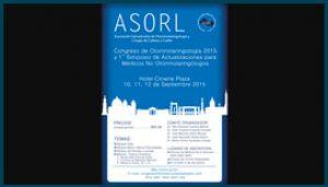 Afiche Congreso de ASORL 2015