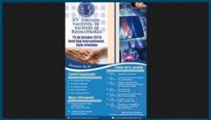 Afiche XV Jornada Nacional de Paciente de Reumatología
