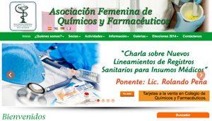 Asociación  Femenina  de Químicos Farmacéuticos