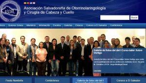 Asociación Salvadoreña de Otorrinolaringología y Cirugía de Cabeza y Cuello