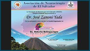 Diploma II Congreso Nacional de Neurocirugia