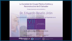 Diploma VII Congreso Nacional de Cirugía Plástica