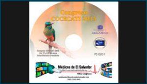Etiqueta de DVD para el Congreso COCECATI 2015