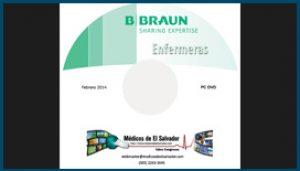 Etiqueta B Braun Enfermeras