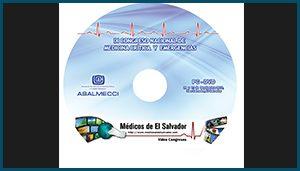 Etiqueta DVD XI Congreso Nacional de Medicina Crítica y Emergencias