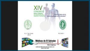 Etiqueta para DVD XIV Congreso Nacional de Endocrinología
