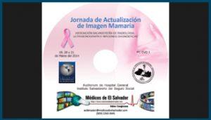 Etiqueta DVD Jornada de Actualización de Imagen Mamaria