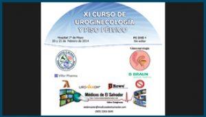 Etiqueta DVD XI Curso de Uroginecología y Piso Pélvico