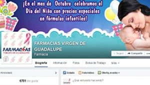 Fan-page Farmacia Virgen de Guadalupe
