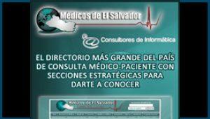 Flyer Médicos de El Salvador