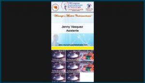 Gafete para el VIII Congreso Centroamericano de Neurocirugía 2015