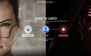 Google invadida por la Saga de Star Wars