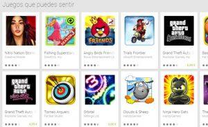 Google Innova con nuevas sensaciones en juegos