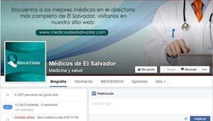 Fan-page Médicos de El Salvador