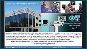 Anuncio prensa 07- Centro Panamericano de ojos